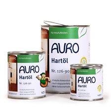 AURO Hartöl weiß pigmentiert 2 5 L