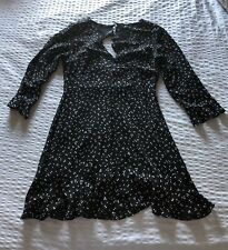 Minkpink Black + White Polka Dress Size Small