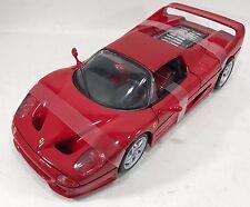 BBURAGO - 18-16004 - Ferrari F50 course et joue échelle 1:18 - Rouge