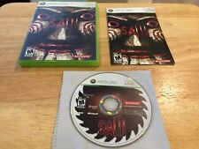 Saw 1 Microsoft Xbox 360 System Complete Game