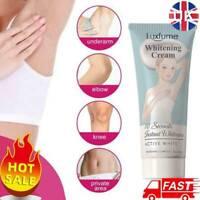 Underarm Whitening Cream For Armpit Bikini Elbow Knee Dark Area Deodorant UK