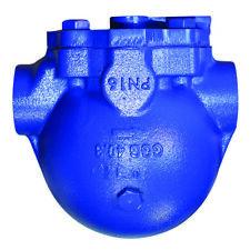 """Cast Iron Compressed Air Liquid Drainer Float Trap 1/2"""" BSP - NEW"""