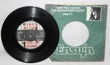 "7"" Single - Wings - Let 'Em In - MPL R 6015 - 1976"