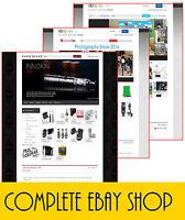 Full Professional eBay Shop Store & Listing Template Design Free Installation