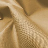 Beige Heavy Duty Waterproof Canvas Fabric 600D Outdoor Cover Sold By Metre