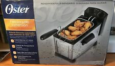 OSTER CKSTDFZM37-SS1 PROFESSIONAL STYLE STAINLESS STEEL IMMERSION DEEP FRYER