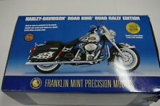 FRANKLIN MINT HARLEY DAVIDSON ROAD KING CLASSIC 2002 ROAD RALLY EDITION