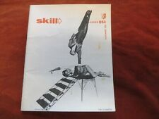 Skill Magazine. Wrestling, Circus, Contortion, weights, boxing etc Nov' 1966  F