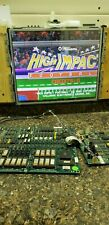 High Impact Football Jamma Video Arcade Game Pcb, Atlanta, Tested Good, #256