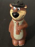 Vintage Yogi Bear Plastic Bank Knickerbocker Hollywood c1960's