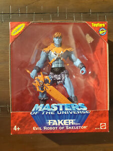 New MOTU Masters of the Universe 200x Toyfare Exclusive Faker Figure