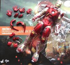 Hot Toys MMS311 Iron Man 3 Pepper Potts & Mark 9 IX 1/6 Iron Man Mark9 Figure