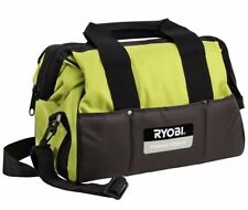 "RYOBI 14""/355mm One+ UTB-2 Green Hand & Cordless Power Tool/Drill Bag With Strap"