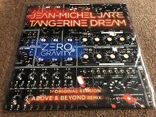 "Jean Michel Jarre & Tangerine Dream.  Zero Gravity  limited 12"""