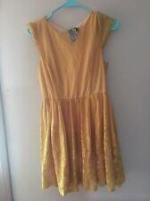 Modcloth Mustard Lace Dress