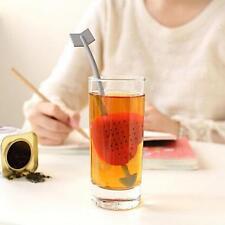 Cute Love's Arrow Loose Tea Bag Infuser Herb Leaf Spice Strainer Filter Diffuser