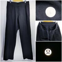 Lululemon Mens Large Athletic Sweatpants Jogger Pants Black