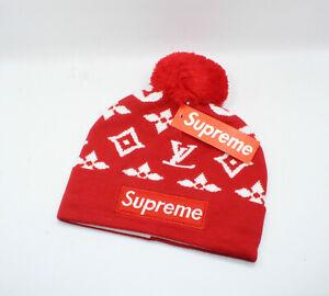 Supreme Beanie Ski Hat Red NWT