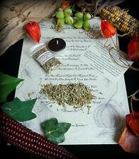 Samhain incenso Benedizione Rituale Wicca Pagan Halloween