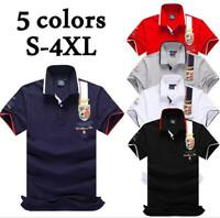 2019 Air Force one Top Quality Embroidery shirts Men's summer Polo shirt