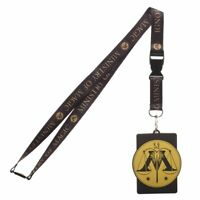 Harry Potter Ministry of Magic Lanyard with ID Holder New