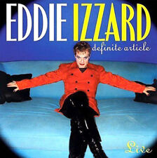 EDDIE IZZARD Definite Article (1996) 23-track Audiobook CD new/unplayed
