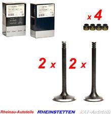 2x Einlaßventil 2x Auslaßventil Satz CGP AXP AUA  Audi VW Seat Skoda 1,2 1,4 1,6