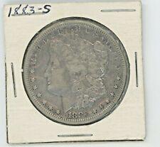 1883-S  MORGAN SILVER DOLLAR----RAW--