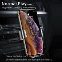 New CD Slot Car Phone Holder Cell Phone Car Mount Stand For iPhone