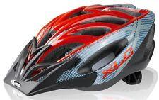 Casco bici XLC Comp 'mt. Kenia' Unisize (52-60 Cm) Grigio/rosso 2500173000