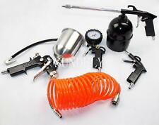 5 Piece Air Compressor Kit Spray Gun Air Line Accessories Tools Air Hose UK
