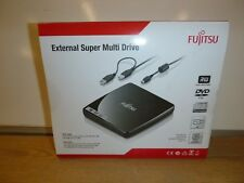 FUJITSU EXTERNAL SUPER MULTI DRIVE DVDRW DRIVE NEW BOXED