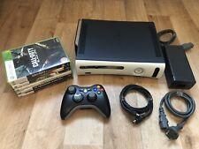 Xbox 360 Elite 250GB (Kronos Motherboard) + 6 Spiele.