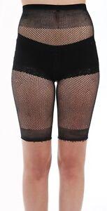 Damen Frauen Sexy schwarz Fischnetz Hot Shorts von Pamela Mann-DESIGNER Wear