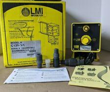 Milton Roy Metering Pump C131 24 120v 5060hz 600 Psi