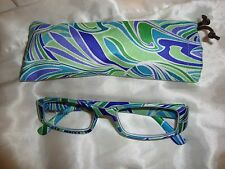 Reading Glasses - Modern Swirl Greens 1.00 (0/)