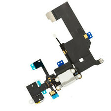 White Charging Port Replacement Charger Flex Cable USB Dock Mic For iPhone 5 5G