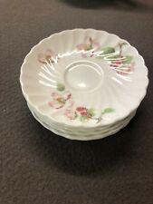 Porcelain Wedgwood déco Apple Blossom 6 sous tasse