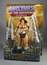 MOTUC ,Battleground Teela Masters of the Universe Classics, figure, complete moc