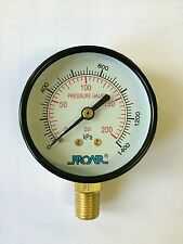 Quality PROAIR Air Compressor Gauge kPa and psi 63mm metal case