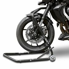 Motorcycle head stock lift ConStands Vario 13-18mm paddock stand front