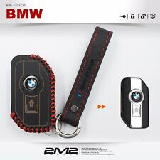 Leather Key fob Holder Case Chain Cover FIT for BMW BMW R1200GS R1200 GS