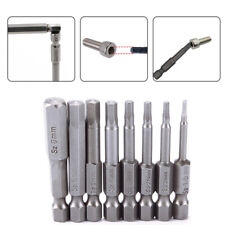 Hex Key Allen Bit Quick Change Connect impact driver power drill metric Wrenches