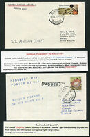 SOUTH AFRICA: (12834) PAQUEBOT cancels/covers