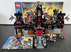 LEGO CASTLE 8877,  Vladek's Dark Fortress, 100% Set-Minifig-Instruction-BOX