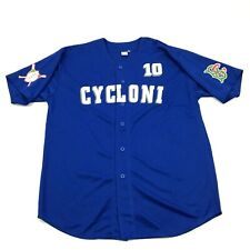 NEW Brooklyn Cyclones Baseball Jersey Size Extra Large Blue Dry Fit MiLB Cycloni
