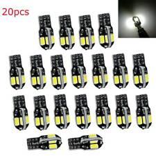 20pcs Canbus T10 194 168 W5W 5730 8 LED SMD White Car Side Wedge Light Bulb Lamp