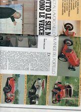 SP60 Clipping-Ritaglio 1977 Luigi Fusi Sotto le sue mani rivivono vecchie Alfa