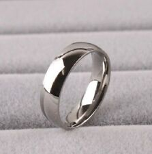 Men 8mm Titanium Comfort Fit Plain Rings Wedding Band RT004