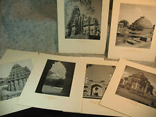 MONUMENTS OF INDIA collection old prints Pearl Mosque Keshava Temple Akbar Tomb